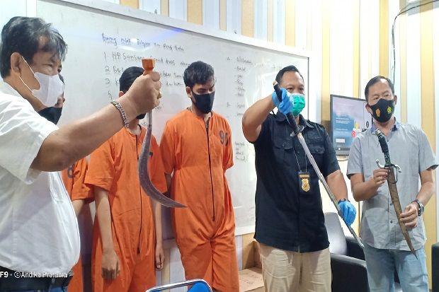 Hendak Kabur ke Bangka, 3 Pembacok 2 Mahasiswa di Kambang Iwak Dibekuk