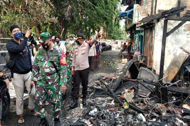 Tetangga Sebut Korban Kebakaran Kelapa Gading Barat Sempat Selamatkan Keluarga