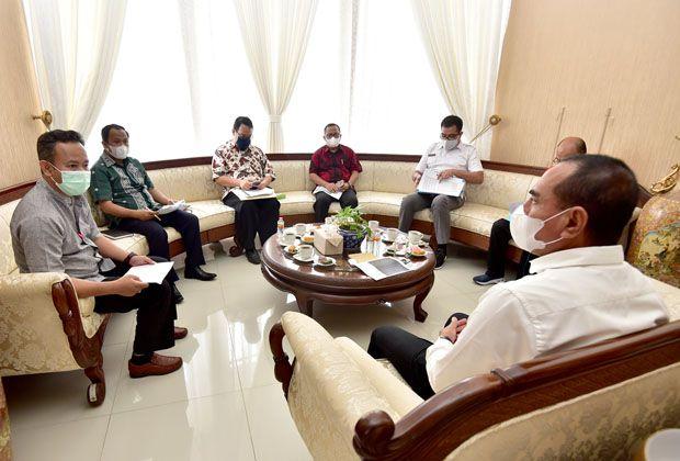 Alat Rapid Test di 10 Kabupaten/Kota Terkendala, KPU Sumut Lapor ke Gubernur