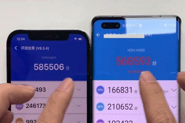 Head to Head Huawei Mate 40 Pro Vs iPhone 12 Pro, Siapa Menang?