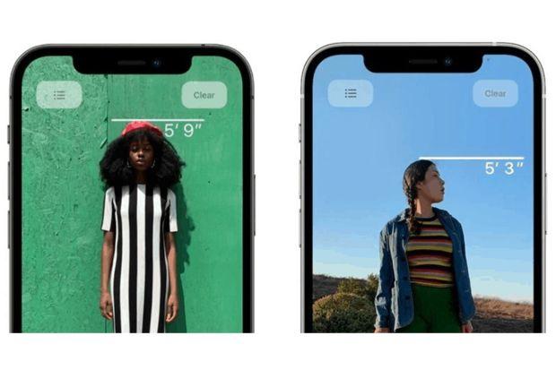 Lidar iPhone 12 Pro Bisa untuk Mengukur Tinggi