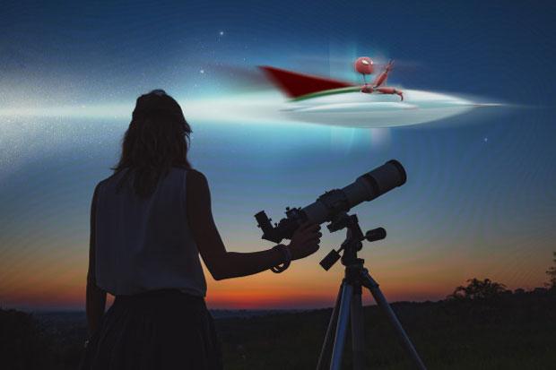 Astronom Ungkap Kemungkinan Alien Intai Bumi dari