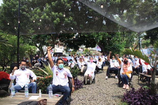 Relawan Jokowi Dukung Keponakan Prabowo di Pilkada Tangerang Selatan