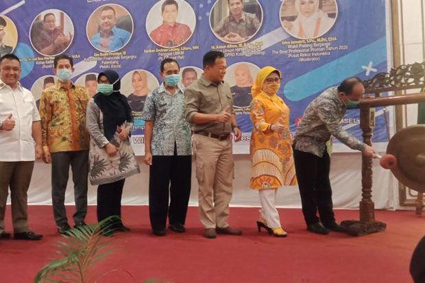 Herman Deru Hadiri Talk Show Himpunanan Mahasiswa Pascasarjana Indonesia