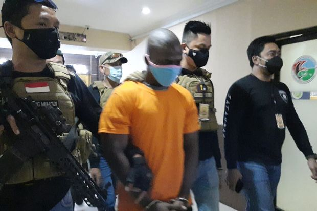 Gunduli Rambut untuk Kecoh Polisi, Pembunuh WN Ghana Ditangkap