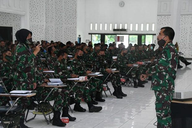 Tingkatkan Kualitas, Prajurit Kodam IV/Diponegoro Digembleng Pembinaan Teritorial