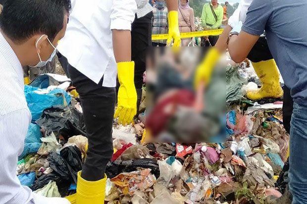 Mayat Terikat dengan Kepala Dibungkus Karung Ditemukan di TPA Punggur Batam