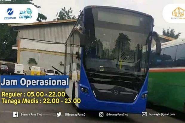 Ini Rute Transjakarta yang Beroperasi Kamis 29 Oktober 2020