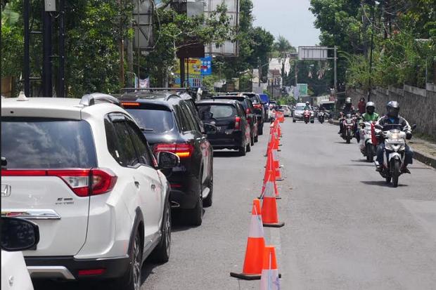Hari Kedua Libur Panjang, Seribu Kendaraan Lebih Masuk ke Lembang