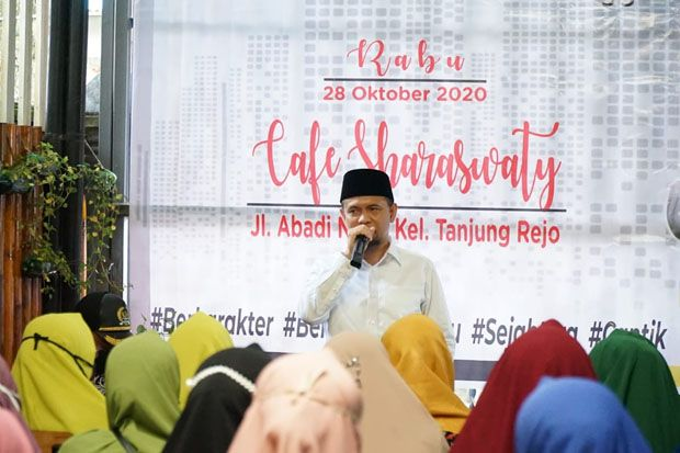 Salman Alfarisi Terharu Relawan Kumpulkan Dana Kemenangan AMAN