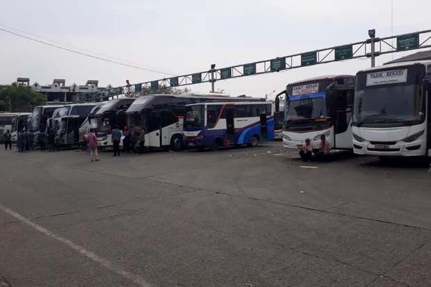 Tren Pulang Kampung Naik Bus Menurun