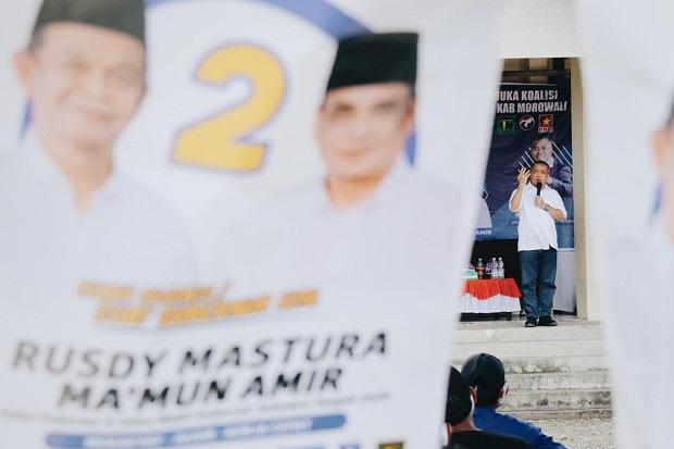 Ahmad M Ali: Masyarakat Morowali Siap Berikan Kemenangan Mutlak untuk Rusdy-Mamun