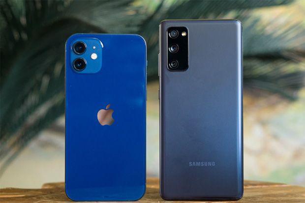 Adu Banteng iPhone 12 vs Galaxy S20 FE, Begini Hasilnya...