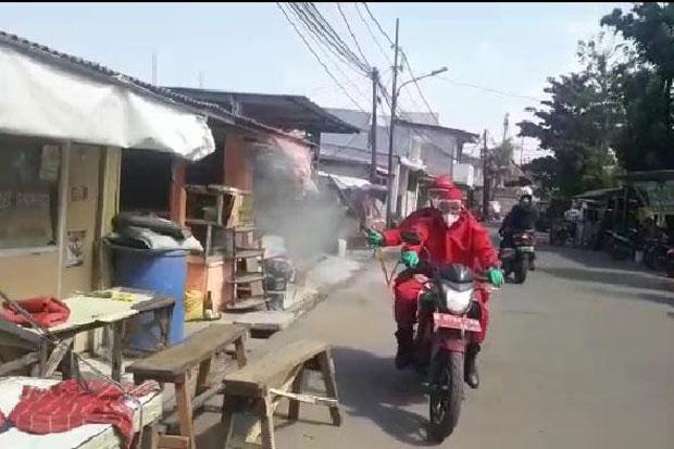 Selama Pandemi, Damkar Jaktim Semprotkan Disinfektan di 8.112 Lokasi