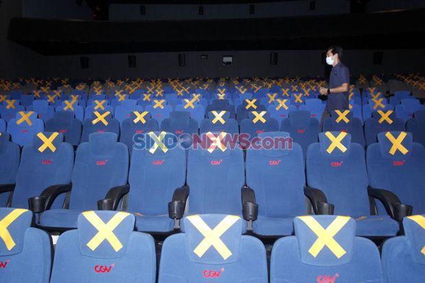 DKI Setujui Bioskop Buka dengan Kapasitas 50% dari Tempat Duduk