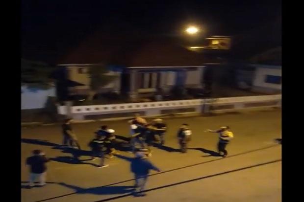 Kabupaten Muna Mencekam, Dua Kubu Pendukung Paslon Bupati-Wakil Bupati Terlibat Saling Serang