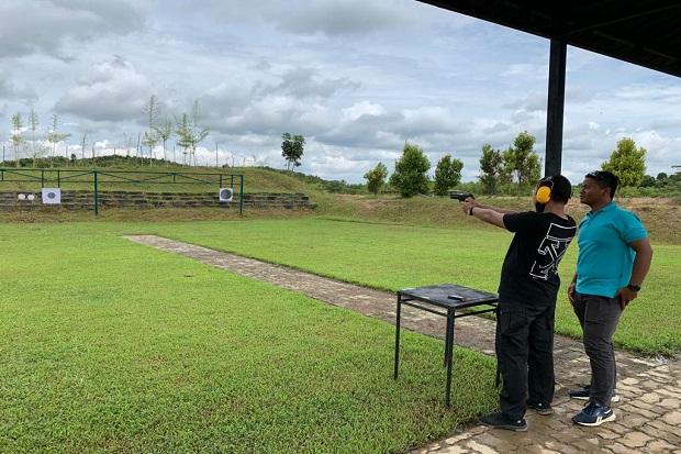 Ulang Tahun, Batalyon Infanteri Marinir 10 SBY Ajak Jurnalis Menembak