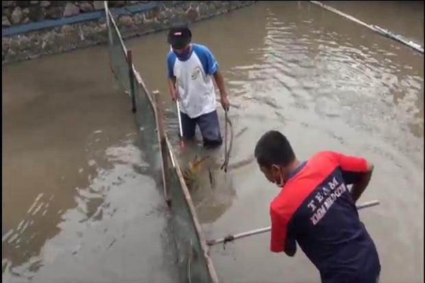Kerja Keras Warga Mojokerto, Ubah Sungai Kumuh Jadi Kolam Ikan