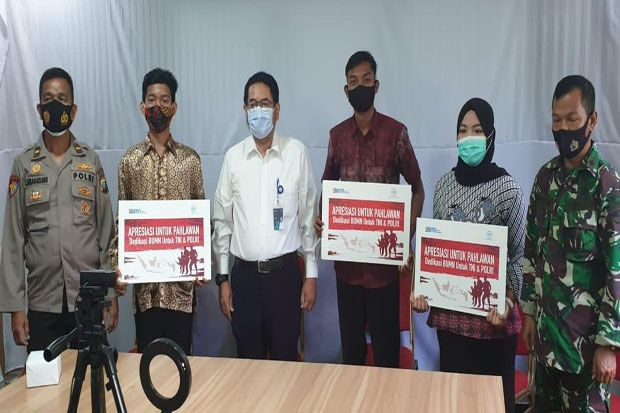 PT PP Berikan Bantuan Pendidikan untuk Anak Anggota TNI-Polri