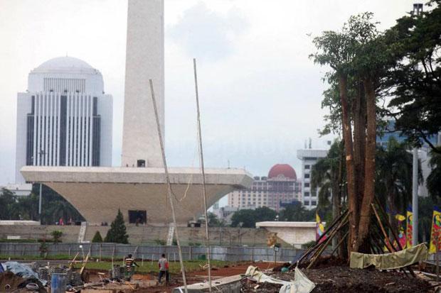 Antisipasi Banjir, Sudin Pertamanan dan Hutan Jakpus Utamakan Relokasi Pohon