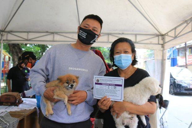 5.087 Hewan Peliharaan di Jakpus Sudah Divaksin Anti Rabies