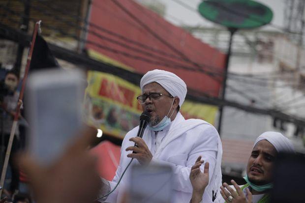 FPI: Habib Rizieq Memilih Tak Melakukan Kegiatan yang Berdampak Penumpukan Massa