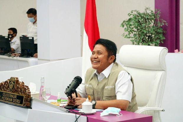 HD Ikuti Pengumuman Pemenang Kepala Daerah Inovatif 2020 se-Sumatera Selatan