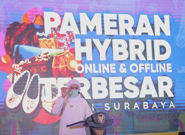 Gubernur Khofifah Dukung Gerakan Bangga Produk Lokal