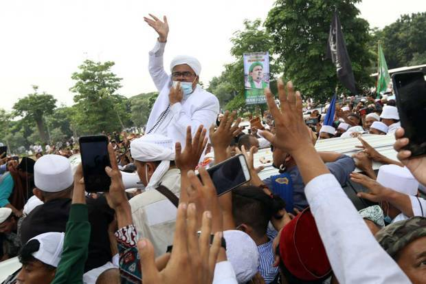 Habib Rizieq Dikabarkan Positif Covid-19, FPI: Beliau Hanya Butuh Istirahat