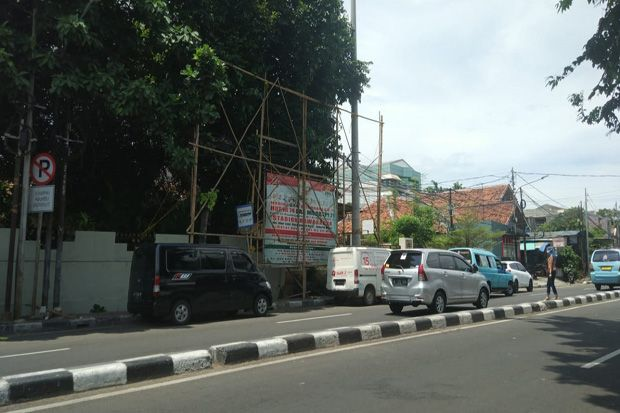 Usai Pencopotan Baliho Habib Rizieq di Petamburan, Aktivitas Warga Biasa Saja