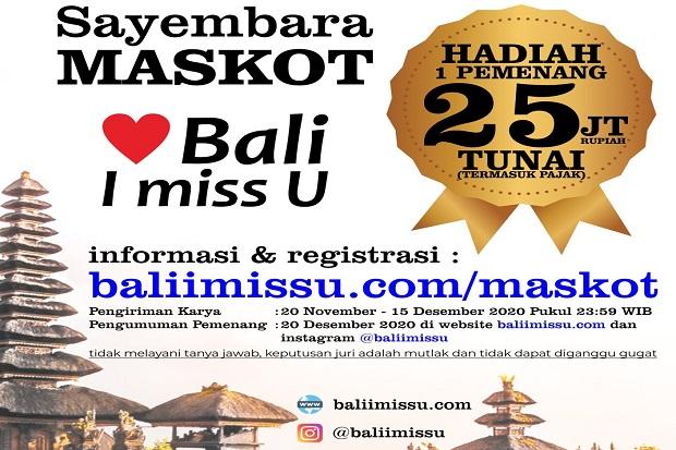 Bali I Miss U Gelar Lomba Bikin Maskot