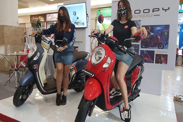 Di Tengah Kelesuan Ekonomi Akibat Pandemi, All New Honda Scoopy Mengaspal di Surabaya