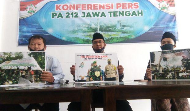 Soal Pencopotan Baliho Habib Rizieq, Alumni 212 Jateng Buat Surat Terbuka untuk Panglima TNI