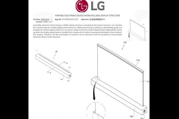 PC Masa Depan, LG Patenkan Notebook 17 Inci dengan Layar Gulung