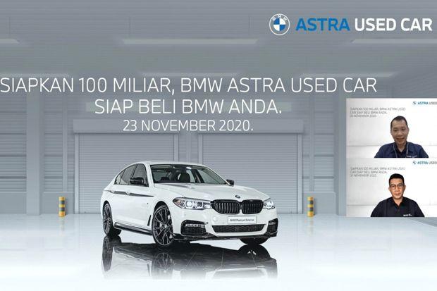 Mau Jual Mobil BMW? Ada BMW Astra Used Car yang Siap Menampung
