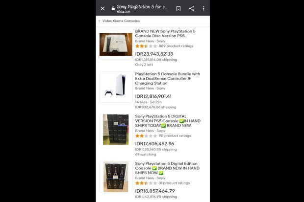 Raup Untung Gede, Re-Seller Banderol Harga PS5 Enggak Masuk Akal