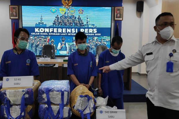 Operasi Laut Interdiksi Terpadu 2020, Bongkar 5 Kasus Peredaran Narkoba