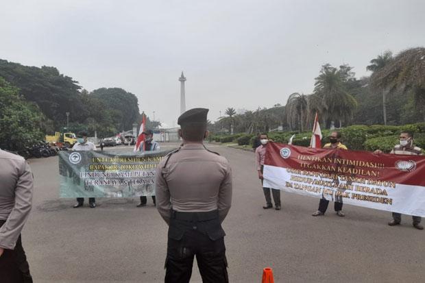 Lahan Dicaplok Perusahaan, Petani Desa Dayun Sambangi Istana Merdeka