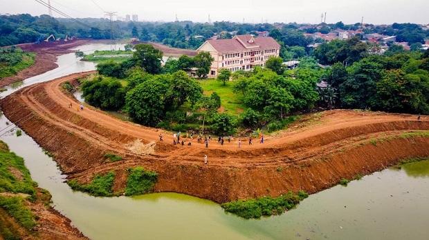 Waduk Pondok Ranggon Siap Hadapi La Nina di Akhir Tahun, Pengerukan Capai 80%