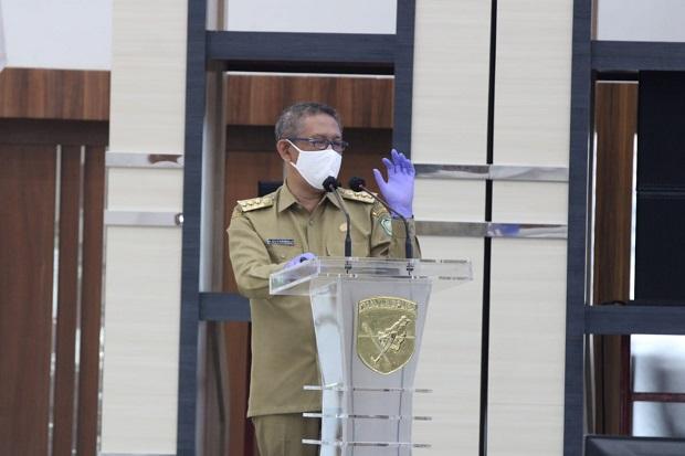 Gubernur Kalbar Pimpin Rakor Satgas Penanganan Covid-19