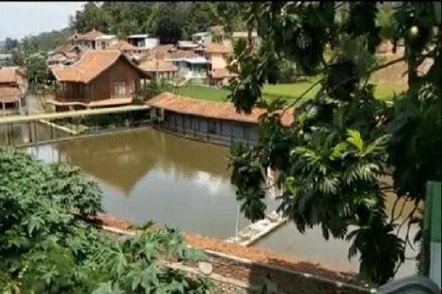 Melihat Vila dan Pemancingan Milik Menteri Edhy Prabowo di Bandung Barat