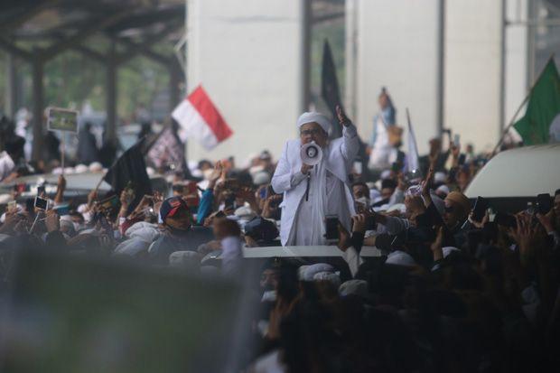 Habib Rizieq dan Istri Dirawat di President Suites RS Ummi Bogor