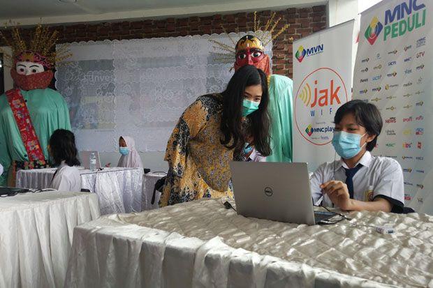 MNC Peduli Kolaborasi dengan Pemprov DKI dan APJATEL Sediakan Internet Gratis di RPTRA Bahari