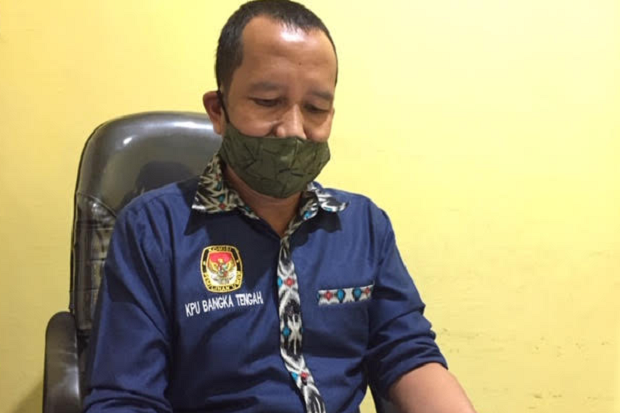 Terapkan Prokes, KPU Bangka Tengah Imbau Masyarakat Tidak Takut Datang ke TPS