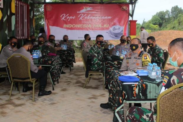 Sat Brimob Polda Kepri Ikuti Kopi Kebangsaan Secara Virtual se-Indonesia