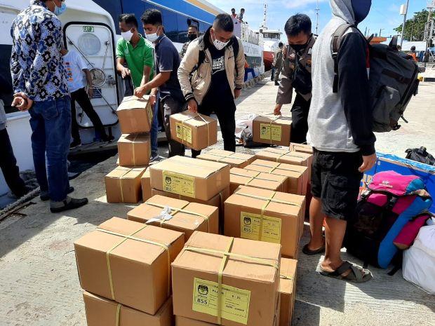 KPU Sumbar Siapkan Dana Rp1 M Distribusi Logistik ke Mentawai