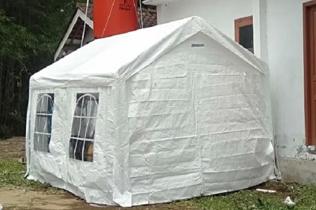 Bilik Asmara Ayah Bunda Disediakan Pemkab Sleman di Barak Pengungsian Merapi