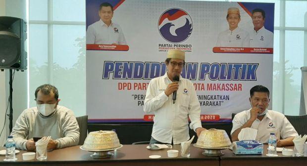 Pendidikan Politik, Kader Perindo Makassar Diminta Lebih Gercep