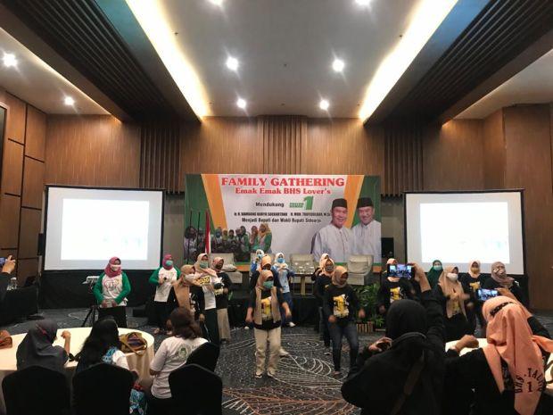 Emak-emak di 18 Kecamatan Siap Antar BHS Jadi Bupati Sidoarjo