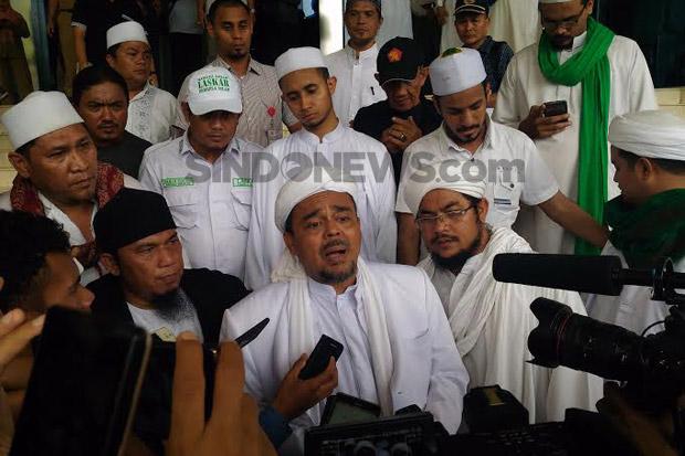Panggilan Kedua Tak Hadir, Habib Rizieq Akan Dijemput Paksa Polisi